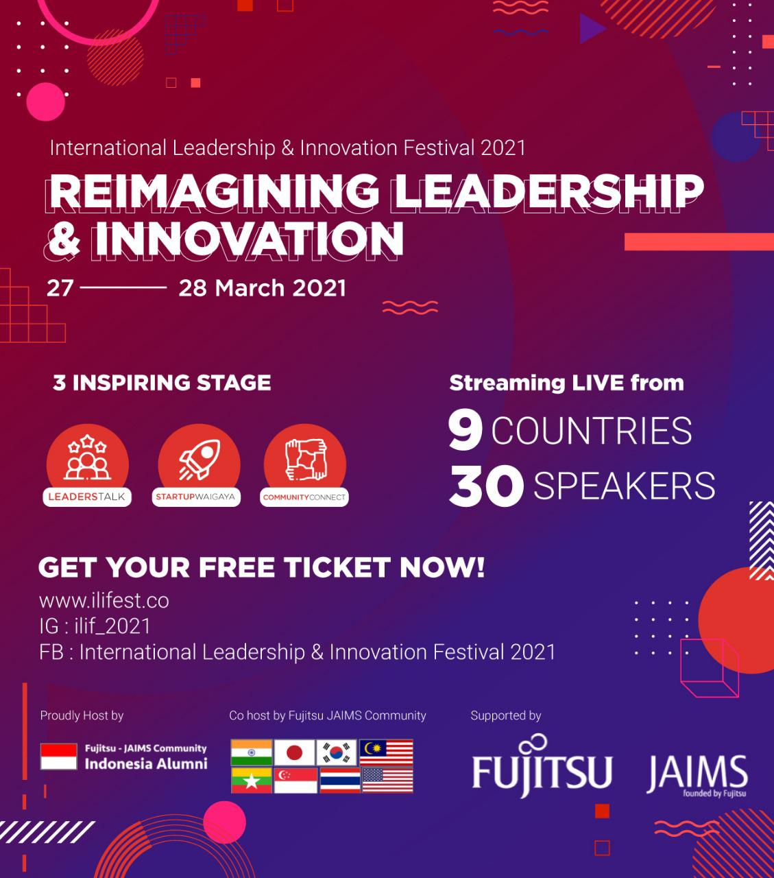 International Leadership And Innovation Festival 2021
