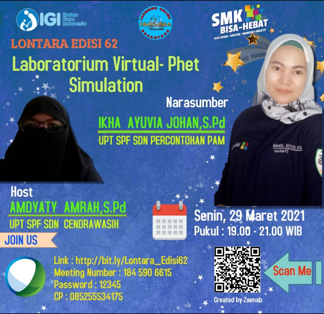 Laboratorium Virtual – Phet Simulation Oleh Ikha Ayuvia Johan